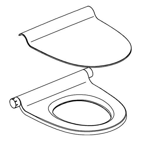 Grohe Sensia IGS - WC-Sitz