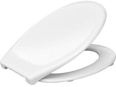 Abattant WC blanc double -