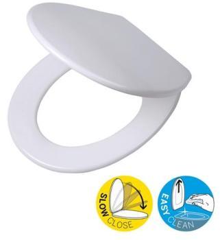 Catgorie abattant wc page 4 du guide et comparateur d 39 achat - Abattant wc taille non standard ...