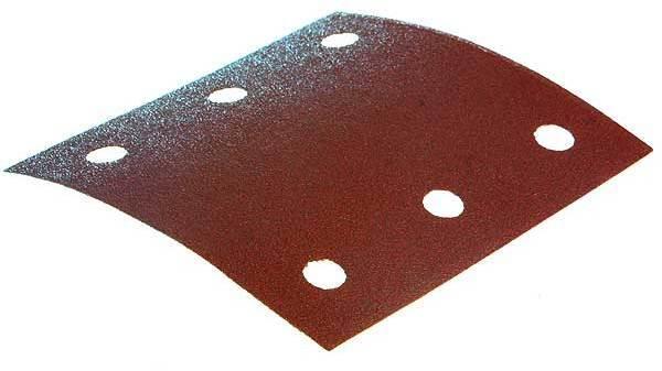 Feuille abrasive 114x102 mm