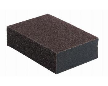 Eponge abrasive 4 faces 70x100x25