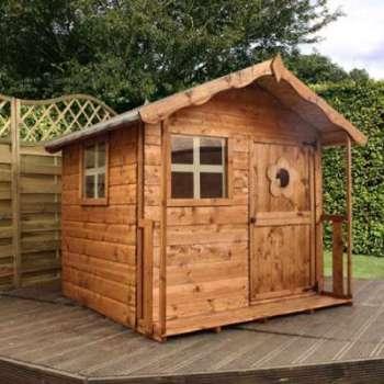 Maisonnette en bois TULIP