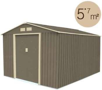 Abri de jardin métal 5 75