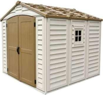 Abri de jardin en PVC WoodStyle