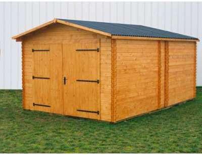 Garage en bois 3 70 x 5 67