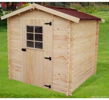 Abri de jardin en bois 4m2