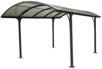 Carport aluminium toit 1 2