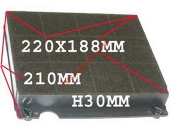 EFC60400 WKX - Filtre charbon