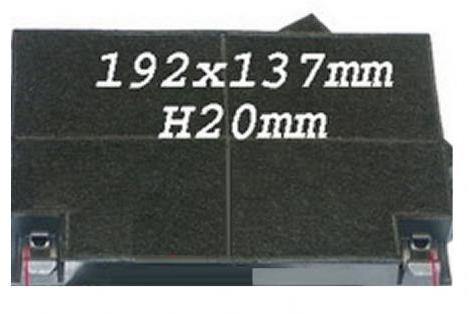 CTB6407XH - Filtre charbon