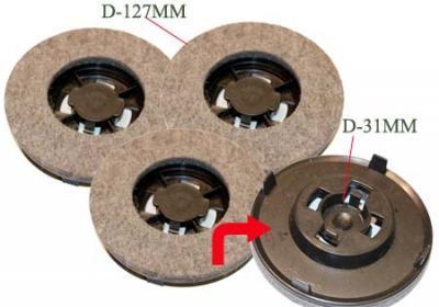 ZP14 - Disques feutre cireuse
