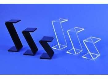 3 plots en Z plexiglas cristal
