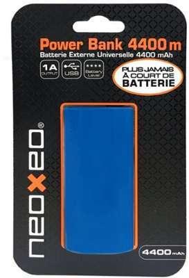 Batterie bleu NEOXEO POWERBANK