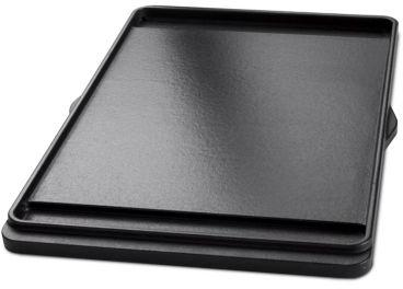 Barbecook plancha en fonte 24x42cm pour barbecue brahma for Plaque plancha weber