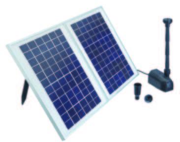 Fontaine solaire Pondo Solar