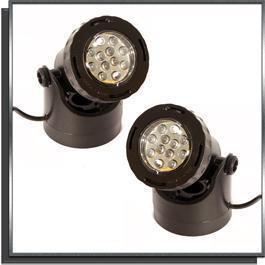 Set de 2 spots LED