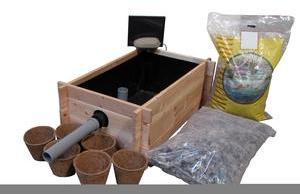 Kit bac lagunage bois 80 x