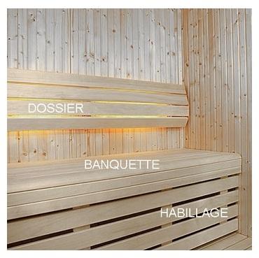 Banquette Sauna Tradition