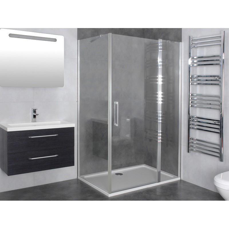 Catgorie accessoire douche page 3 du guide et comparateur for Porte douche battant 80