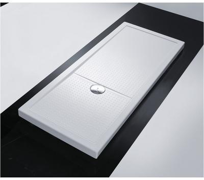 kinedo creceveur de douche rectangulaire gris mat 150. Black Bedroom Furniture Sets. Home Design Ideas
