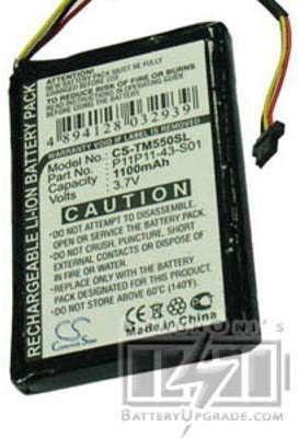 TomTom Go 550 batterie (1100