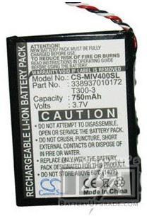 Mio Spirit 575 batterie (750