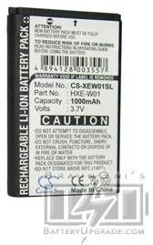 I Trek M6 batterie (1000 mAh)
