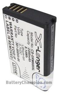 Batterie (2200 mAh) adapté