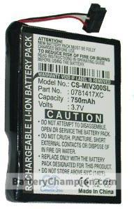Batterie (750 mAh) adapté