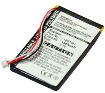 Batterie TomTom GO 630 1300mAh