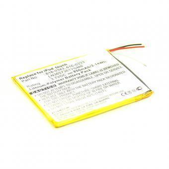 Batterie Apple 616-0341 850mAh