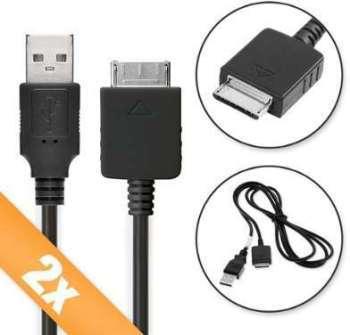 2 x Câble USB Sony NWZ-E464