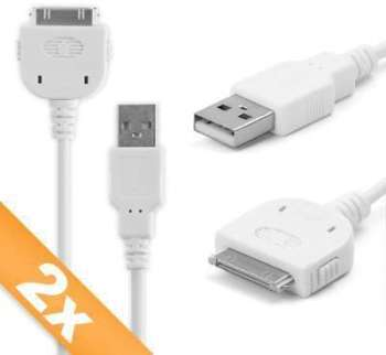 2 x Câble USB Apple iPod 4