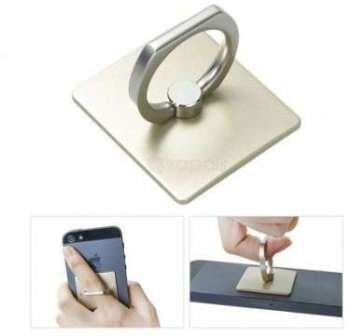 Bague Support Smartphone Or