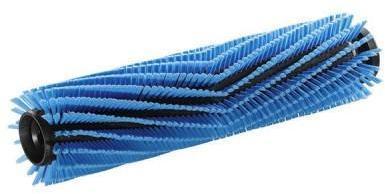 Balai rotatif bleu complet