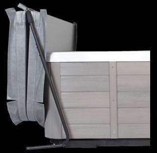 Lève couverture spa modèle