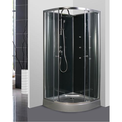 Cabine de douche 1 4 rond