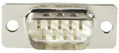 Connecteur à souder DB-9 mâle