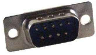 Connecteur DB09 mâle à souder