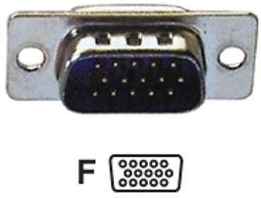 Connecteur à souder HD-15