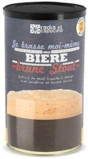 Préparation pour bière brune