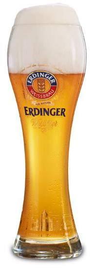 Verre à bière Erdinger Weissbier