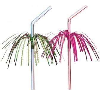 Chalumeau paille palmier colorée