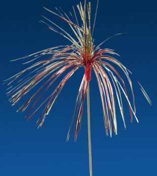 Pique décoration palmier coloré