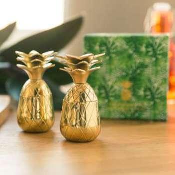 Verres à shot en métal Ananas