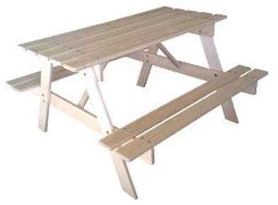 Table enfant Resto en bois