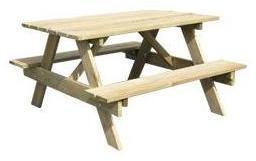 Table pique nique bois OOKid