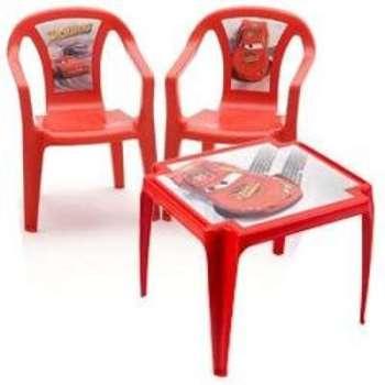 Salon Cars 1 table et 2 chaises
