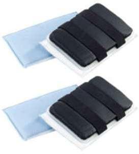2 éponges en microfibres pour