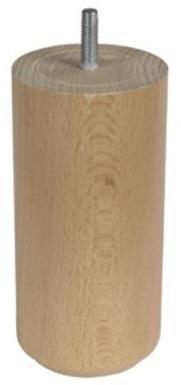 1 pied cylindrique bois 15x5e5cm