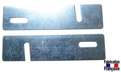 Lot 2 plaques de jumelage